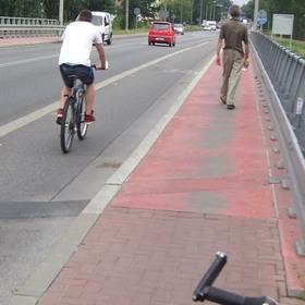 """На велосипеде из Бреста в Бялу Подляску проехать нельзя. Так """"думает"""" Гугл..."""